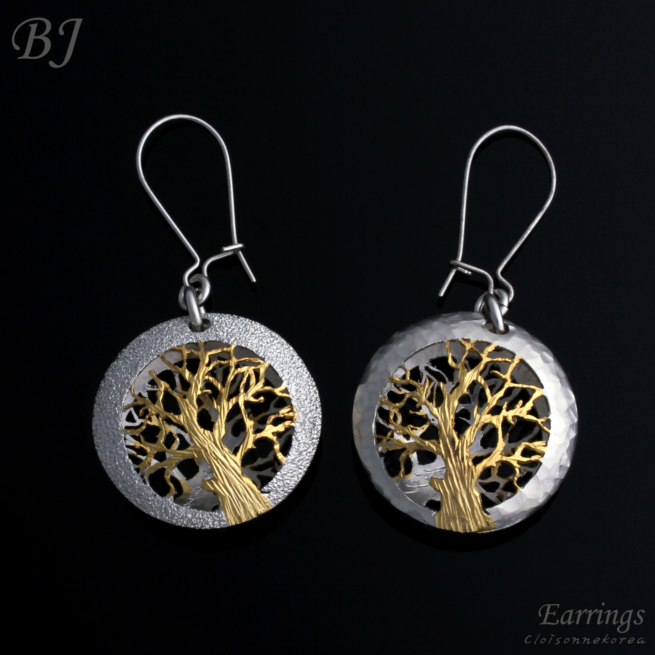 handmade sterling silver earrings
